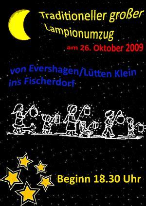 Plakat Lampionumzug