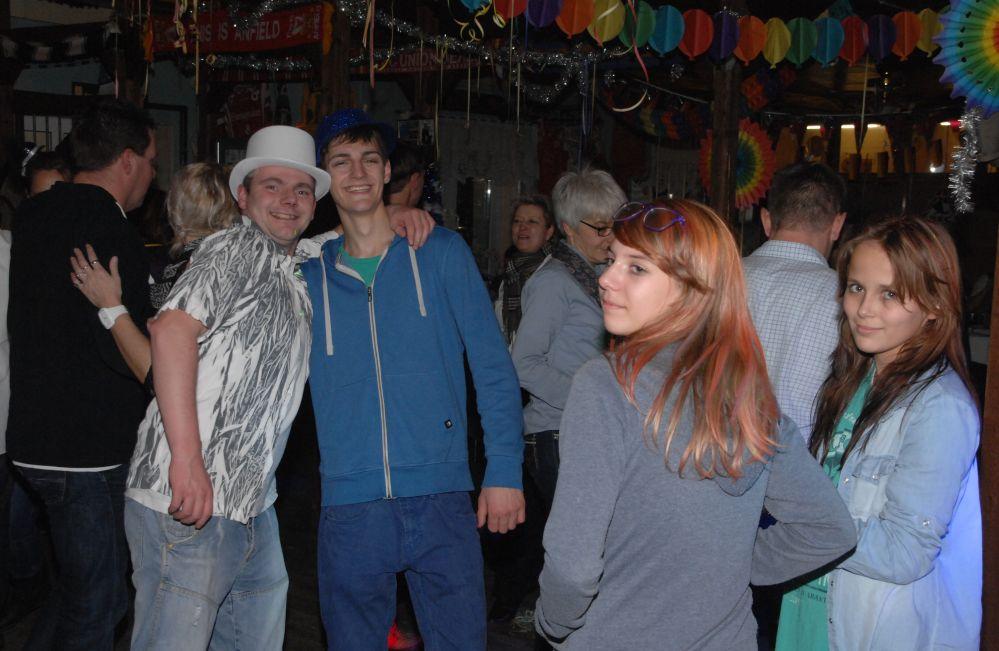 Silvester Party 2013 / 2014 im Rostocker Hansaviertel